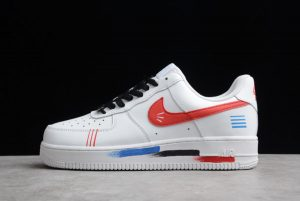 Latest Nike Air Force 1 07 AF1 White Babbit CW2288-111